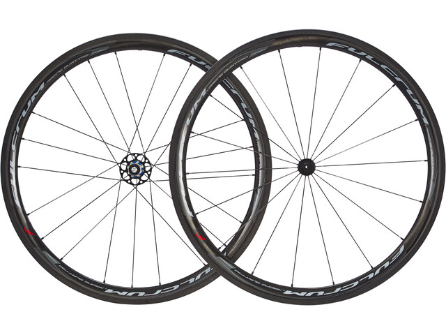 "Fulcrum Racing Quattro Carbon 28"" Clincher Campa zwart"